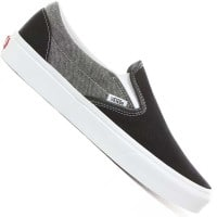 Vans Classic Slip-On Chambray Canvas Black