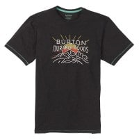 Burton Clark Short Sleeve Herren-Shirt Black Heather