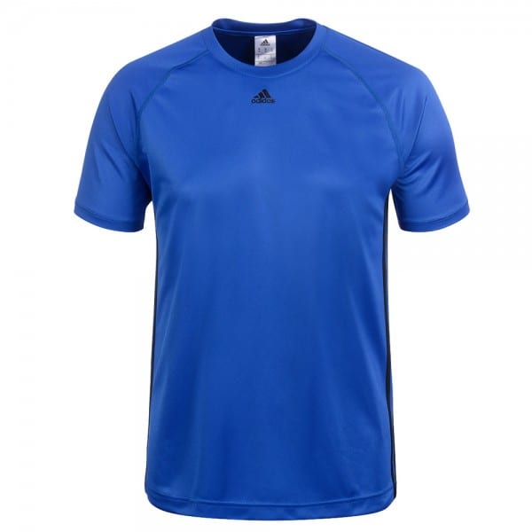 adidas Performance Base 3S Tee Herren-Laufshirt Blue/Black