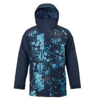 Burton Breach Jacket Herren-Snowboardjacke Eclipse Tie Dye Trench/Ecl
