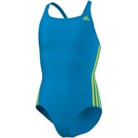 Adidas Infinitex 3S Suit Girls S22905 Kinder-Badeanzug Blue/Yellow