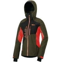 Picture Seen Jacket Damen-Snowboardjacke Kaki