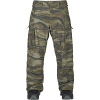 Burton Covert Pant Snowboard-Hose Olive Green Worn Tiger