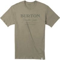 Burton Durable Goods Short Sleeve Herren-Shirt Silver Sage