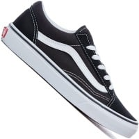 Vans K Old Skool Kinder-Sneaker Black/True White