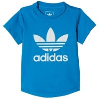 adidas Originals Infant Trefoil I Color Tee Kleinkinder-Shirt Blue