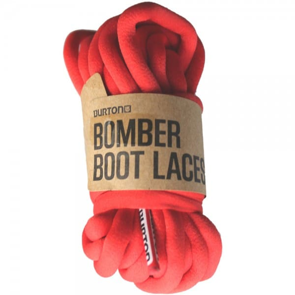 Burton Bomber Laces - Red