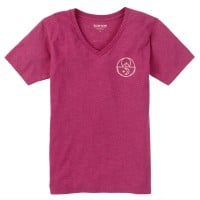 Burton Tarrytown V-Neck Damen T-Shirt Anemone Heather