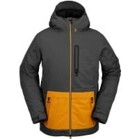 Volcom Deadlystones Insulated Jacket Dark Grey