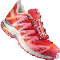 Salomon XA Pro 3D W Damen-Laufschuhe Infrared/Light Grey