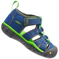 Keen Seacamp II CNX Junior Sandale True Blue Jasmine Green