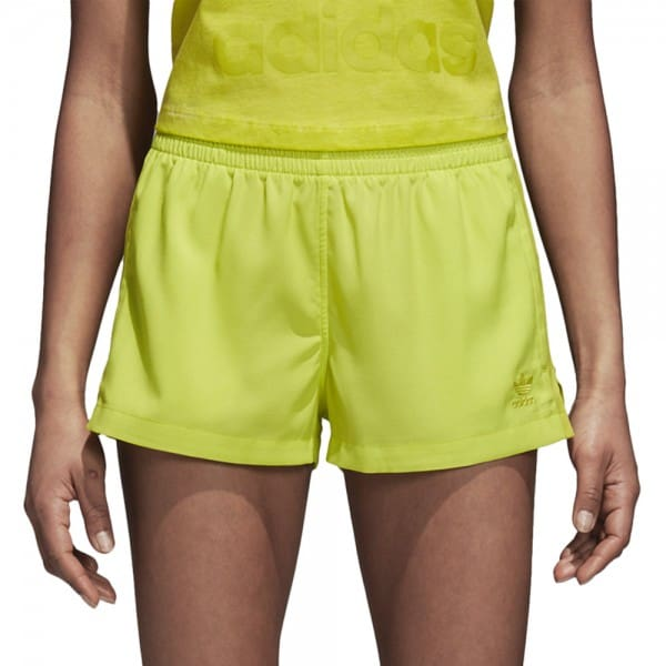adidas Originals Highwaist Shorts Semi Solar Yellow