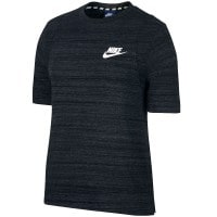 Nike Sportswear Advance 15 Top Damen-Shirt Black/White