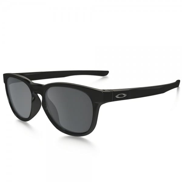 Oakley Stringer Sonnenbrille Polished Black/Black Iridium