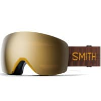 Smith Skyline Snowboardbrille Amber Textile/ChromaPop Sun Black Gold