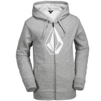 Volcom JLA Stone Zip Fleece Herren-Fleece Hoodie Heather