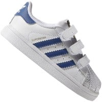 adidas Originals Superstar CF I Kleinkind-Sneaker White/Equipment Blue
