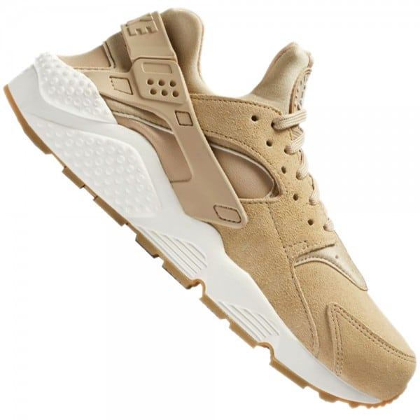 Nike Air Huarache Run Damen-Sneaker Mushroom Light Bone Sail
