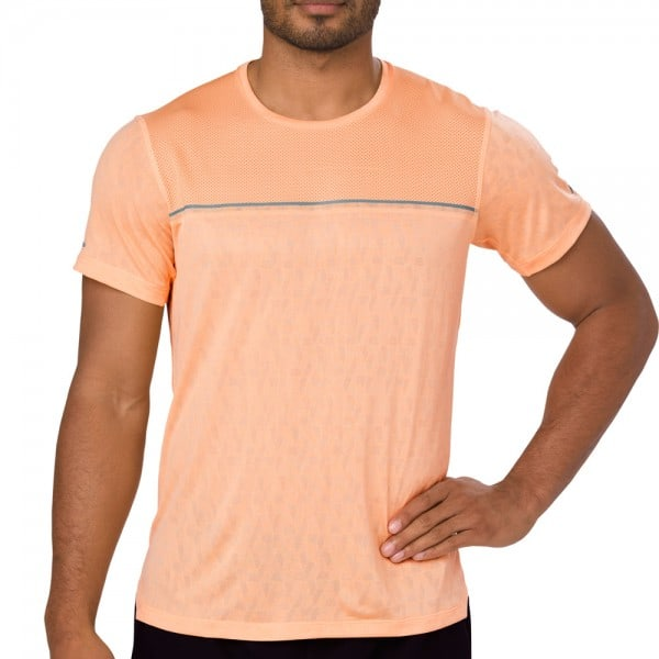asics Performance GEL-Cool SS Top Herren-Laufshirt Apricot