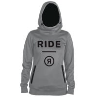 Ride WM Pinnacle Hoodie Damen-Midlayer Grey Melange