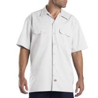 Dickies Short-Sleeve Work Shirt Herren-Hemd White