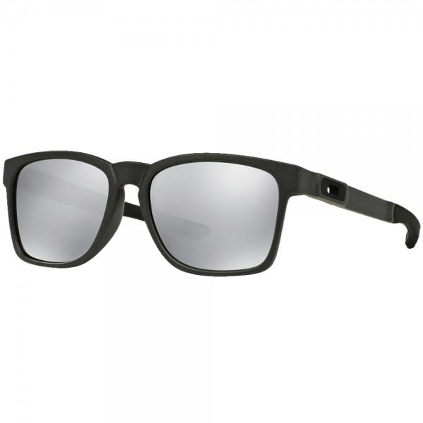 Oakley Catalyst Sonnenbrille Steel/Chrome Iridium