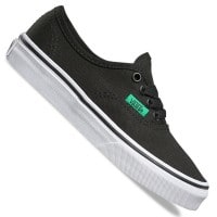Vans K Authentic Kinder-Sneaker Sport Pop Black/Kelly Green