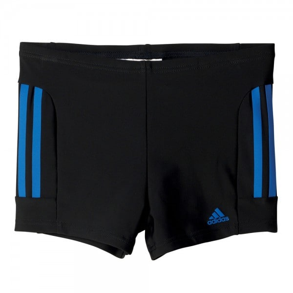 adidas Performance Infant 3 Stripes Boxer Kinder-Badehose Black/Blue