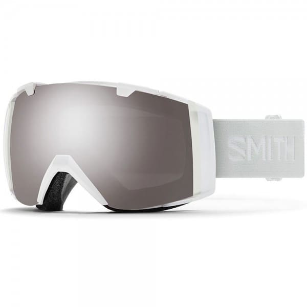 Smith IO White Vapor/Sun Platinum Mirror/Storm Rose Flash