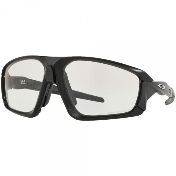 Oakley Field Jacket Matte Black Clear Black Iridium Photochromic