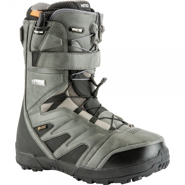 Nitro Select Clicker Step-In Boots Charcoal - 2019