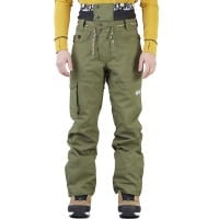 Picture Under Pant Army Green