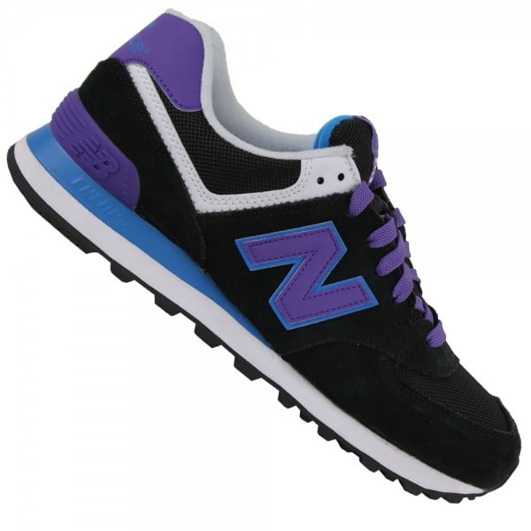 New Balance WL 574 MOX Damen-Sneaker Black/Purple