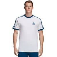 adidas Originals 3 Stripes Tee Herren-Shirt White/Marine