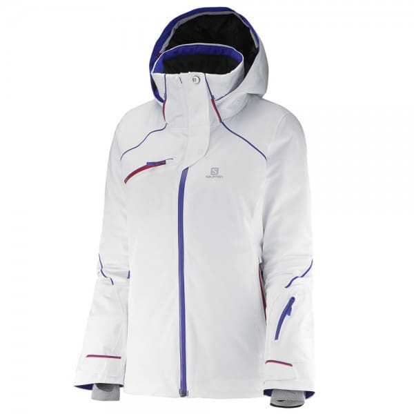 Salomon Speed Jacket W Damen-Skijacke White