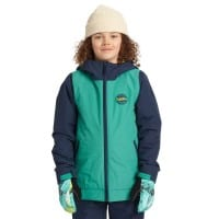 Burton Game Day Jacket Green-Blue Slate/Dress Blue
