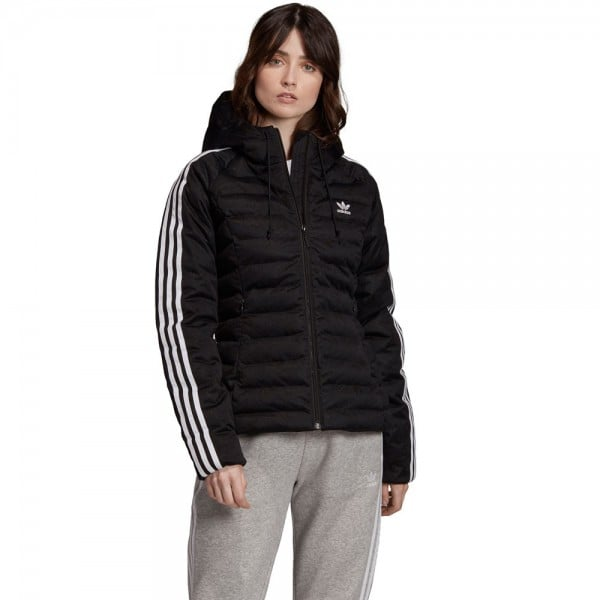 Shop den adidas Originals slim jacke in Schwarz