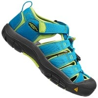 Keen Newport H2 Kinder Sandale Hawaiian Blue/Green Glow