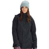 Burton Jet Set Jacket Damen-Snowboardjacke True Black Heather