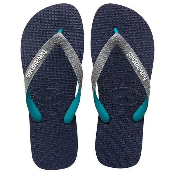 Havaianas Top Mix Flip Navy/Grey/Green Flops