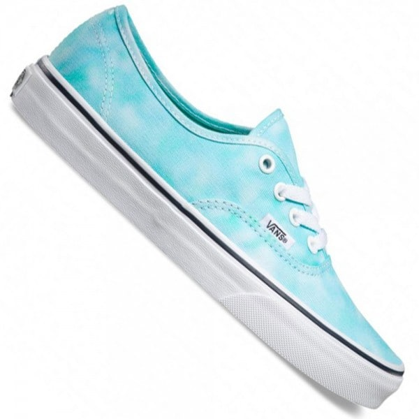 Vans U Authentic Damen-Sneaker Tie Dye Turquoise
