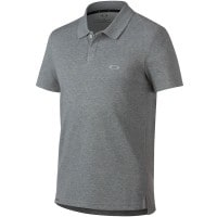 Oakley Link Short-Sleeve Herren-Poloshirt Athletic Heather Grey