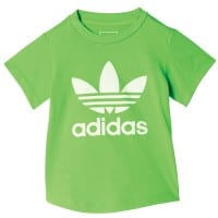 adidas Originals Infant Trefoil I Color Tee Green