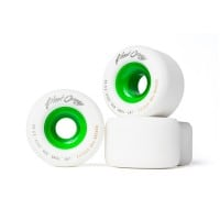 Blood Orange Liam Morgan Pro Longboard Wheels 80A White/Green 70x32mm