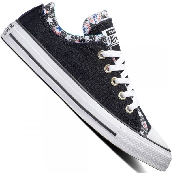 Converse CT All Star Ox Double Upper Black