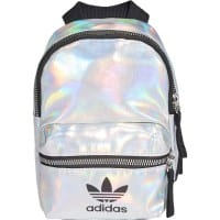 adidas Originals Mini PU Backpack Silver Metallic/Iridescent