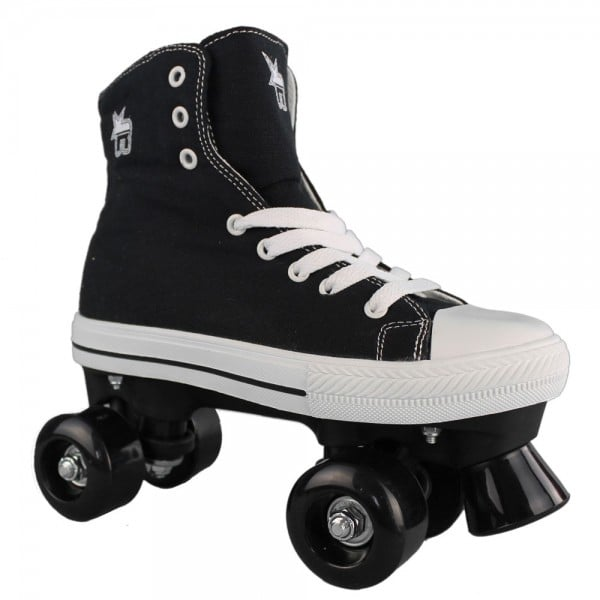 Rookie Rollerskates Canvas High Black