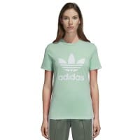 adidas Originals Trefoil Tee Damen-Shirt Blush Green