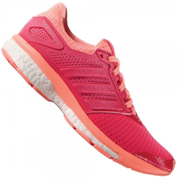 adidas Performance Supernova Glide 8 Damen-Laufschuhe AF6558 Shock Red