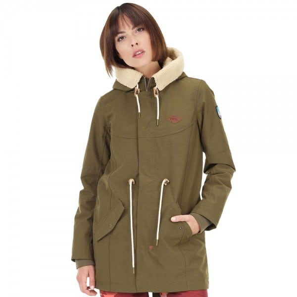Picture Camdem Jacket Damen-Funktionsjacke Kaki